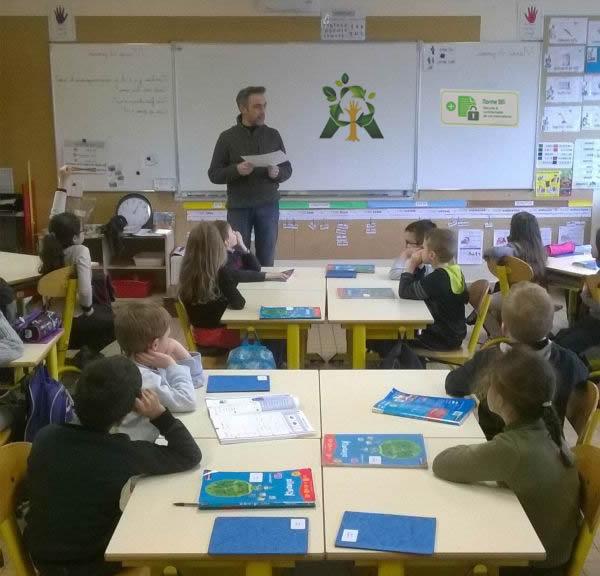 Animation et sensibilisation en classe