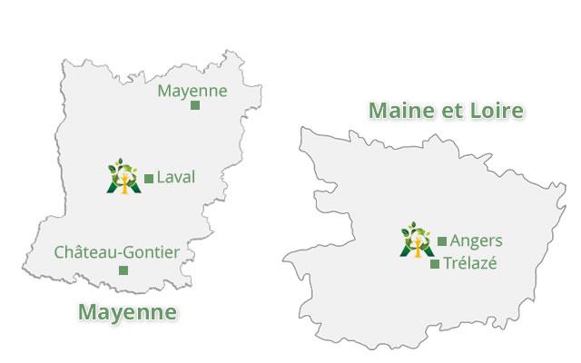 Collecte de papier et carton en Mayenne