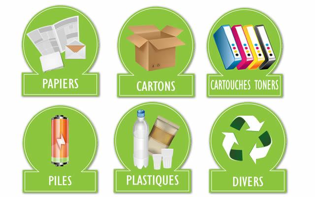 Tous nos services de tri et de recyclage